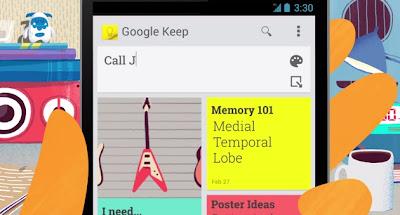 Google Keep: primeiras impressões