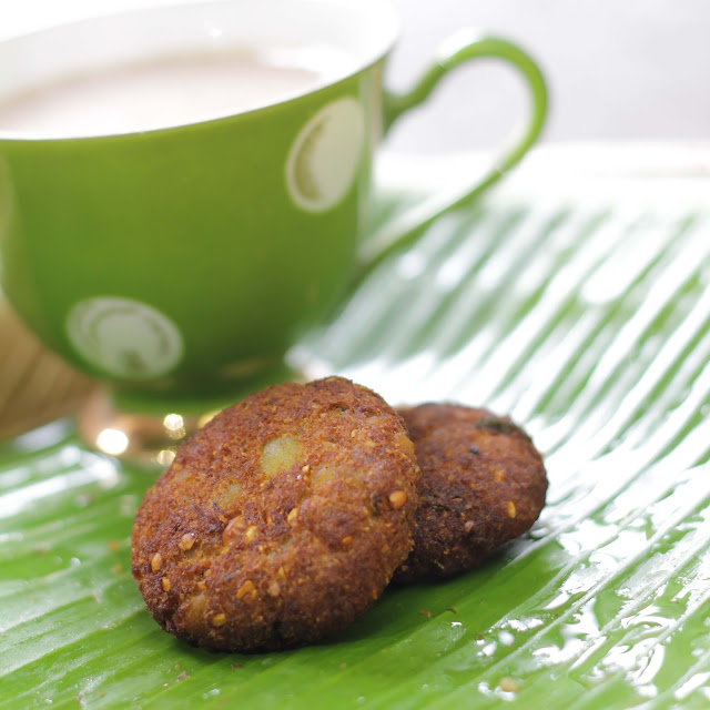 Vazhakkai (Raw Banana) Cutlet