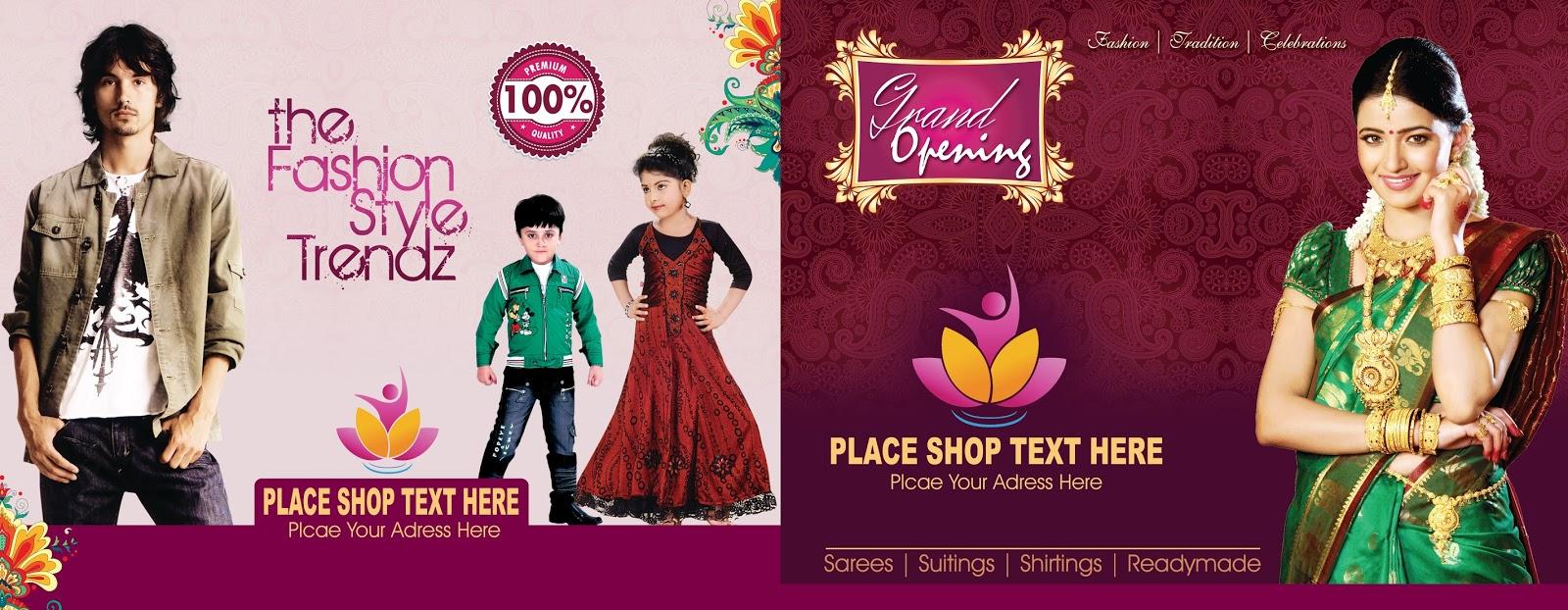 Grand opening invitation card photoshop psd template free saree centre grand opening invitation cards psd templates stopboris Choice Image