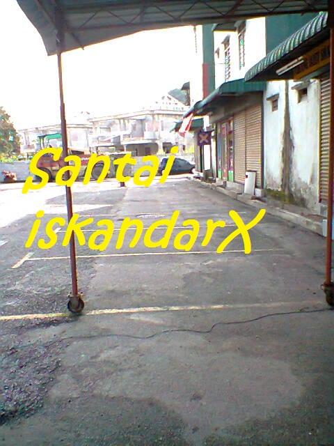 iskandarx.blogspot.com,santai,simpang empat,Simpang 4,Flat ijau,balik pulau,penang,Penurapan Tar Baru Di Flat Ijau 2