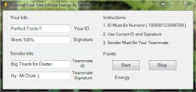 Criminal Case Free Infinite Energy By Dexter