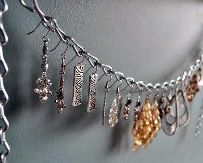 Dangling Earring organizer