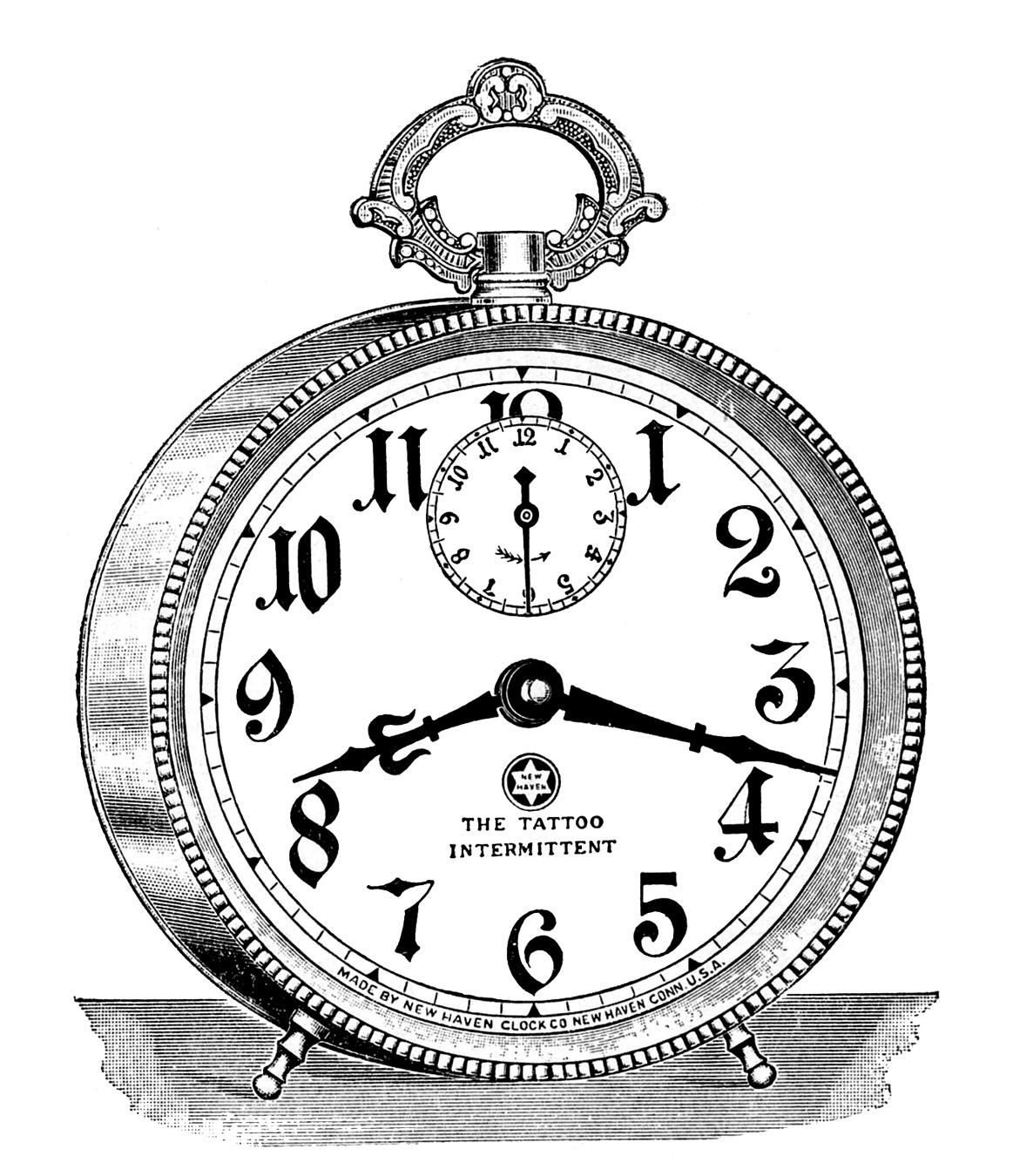Taschenuhr gezeichnet  Kleidung « Clockworker – Steampunk