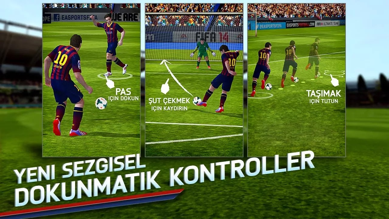 Android FIFA 14 Apk resimi 2
