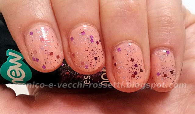 Essence Nail Art Special Effect! Topper #01 It's Purplicious OPI Infatuation swatch