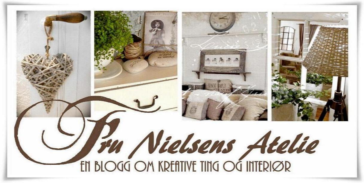 fru nielsen`s atelie, kreative ting og interiør