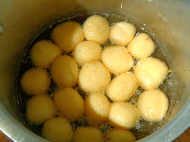 how to make rasgulla in home
