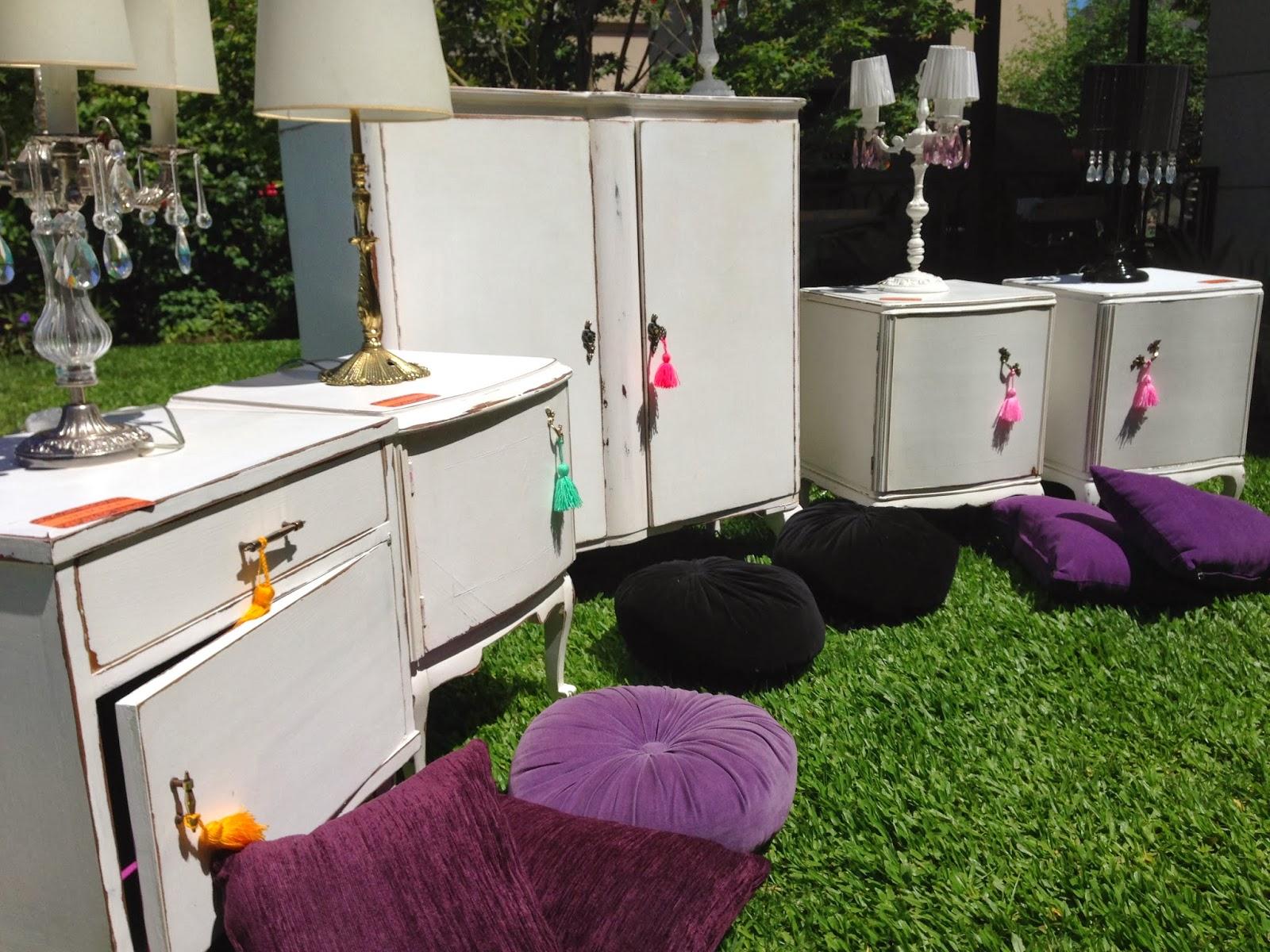Vintouch muebles reciclados pintados a mano muebles for Muebles franceses