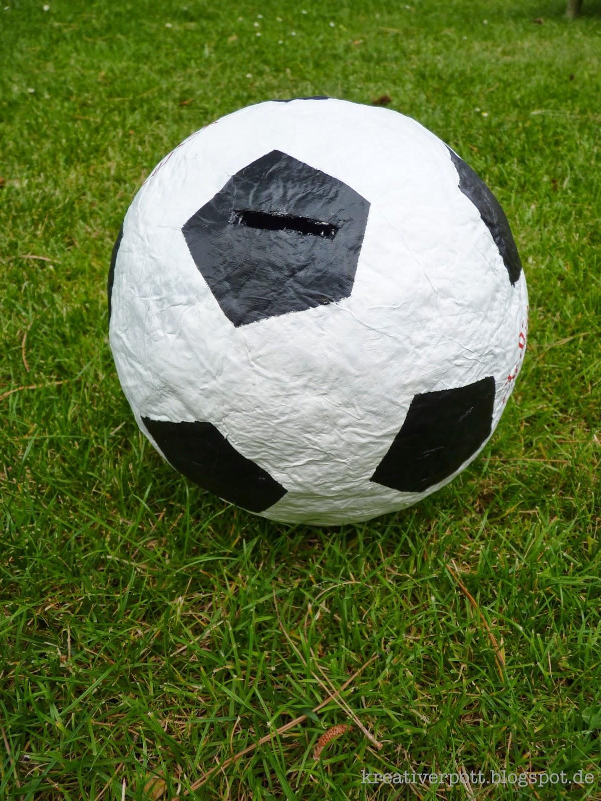 Geldgeschenk Fussball Selbst Basteln Dansenfeesten
