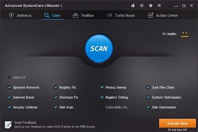 Advanced SystemCare 8 Ultimate