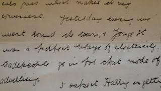 Alice's handwriting