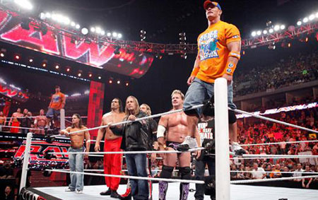 Wwe Nexus Vs John Cena Team Sports players:...