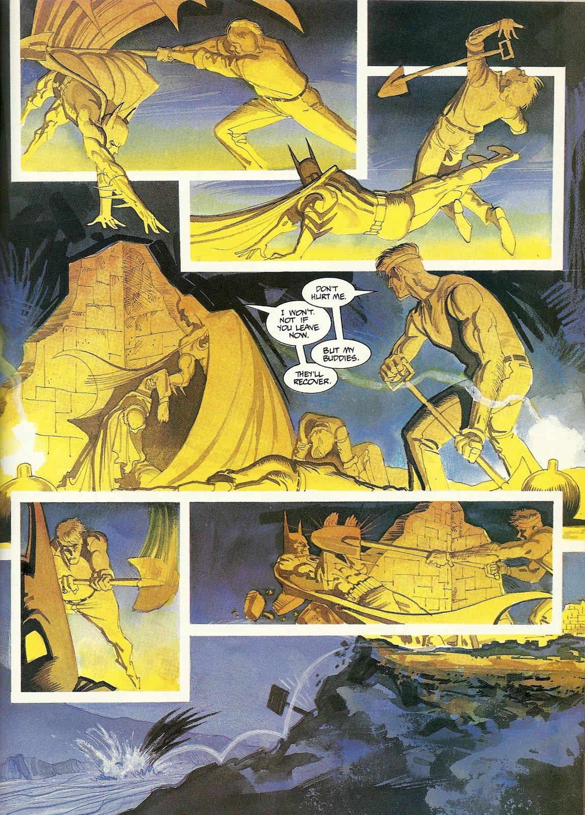 super-comics of the time.