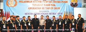 Pelatihan Kader  Pemuda Kamtibmas MABES POLRI