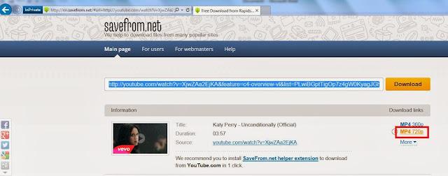Katy Perry free videos