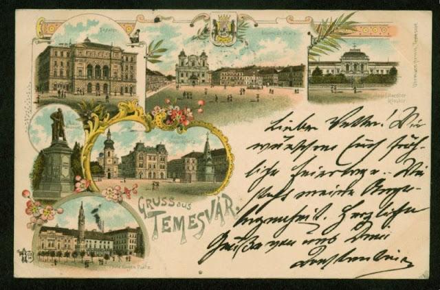 Monumente din Timisoara de odinioara
