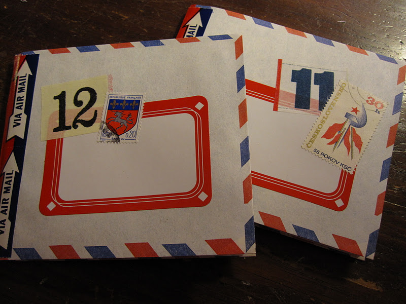 drawing near tutorial air mail envelope jotter notebooks