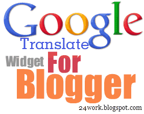 Google Translate Widget for Blogger