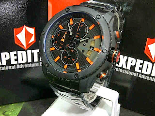 HARGA Jam tangan Expedition 6627 black orange