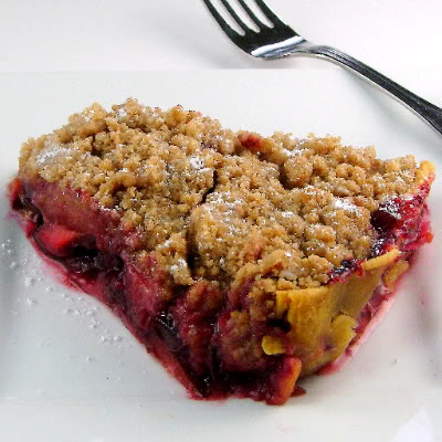 Two Years Ago Today: Plum Tart with Streusel Topping