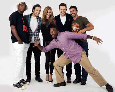 Cast of Captain America: The Winter Soldier