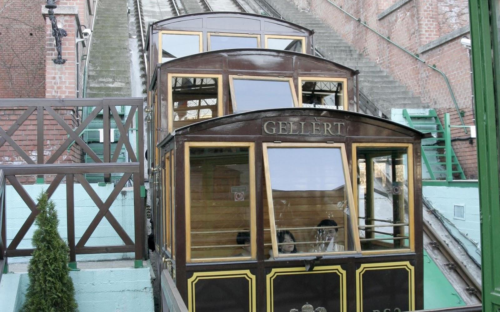 Gellert Mountain Castle Train
