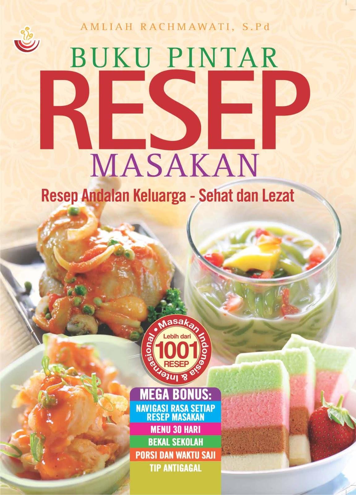Buku Pintar Resep Masakan Buku Bagus Buku Rekomendasi Best