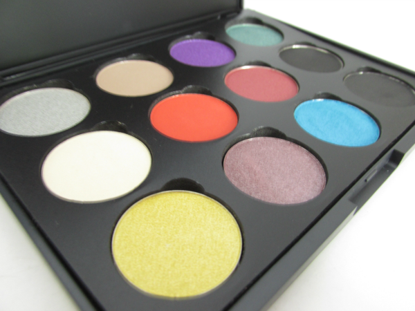 Lenka Kosmetik 12er Lidschatten Palette - Selbst gestalten - Review