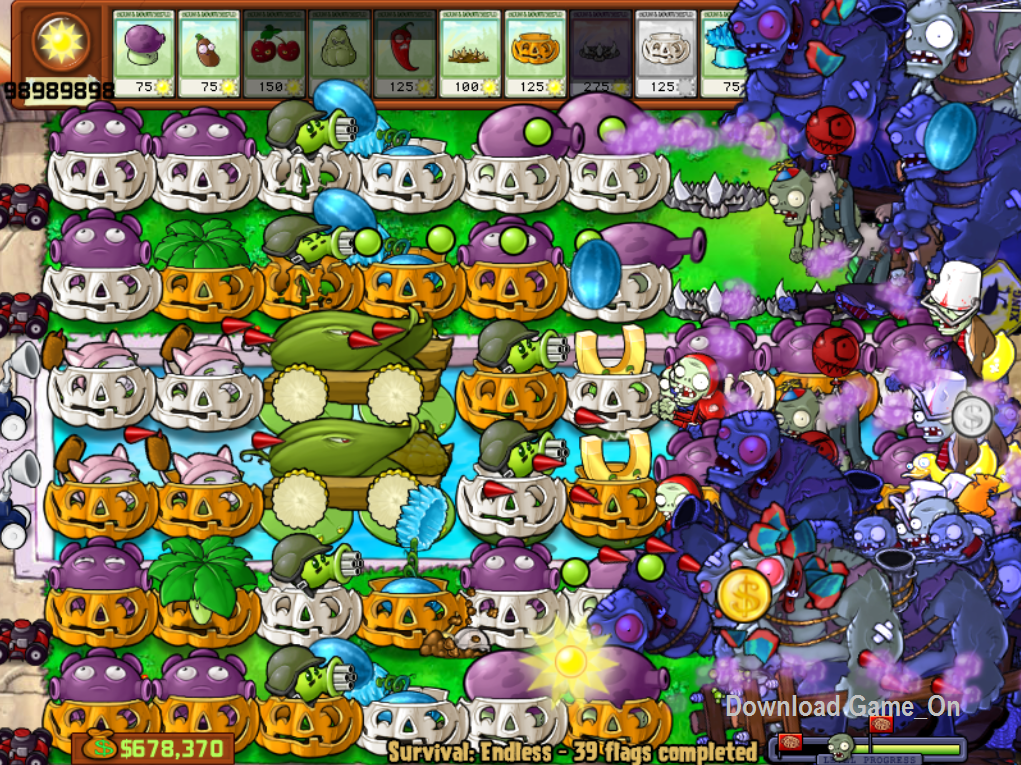 Plants Vs. Zombies Japanese Release Hacked ...