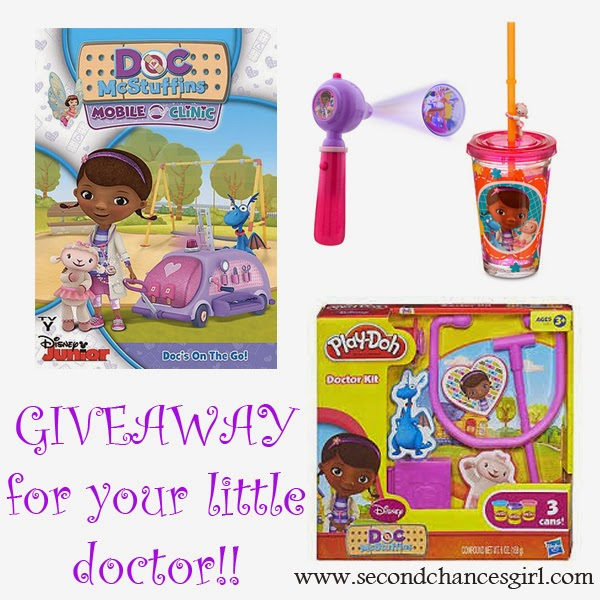 Doc McStuffins Goodies Giveaway