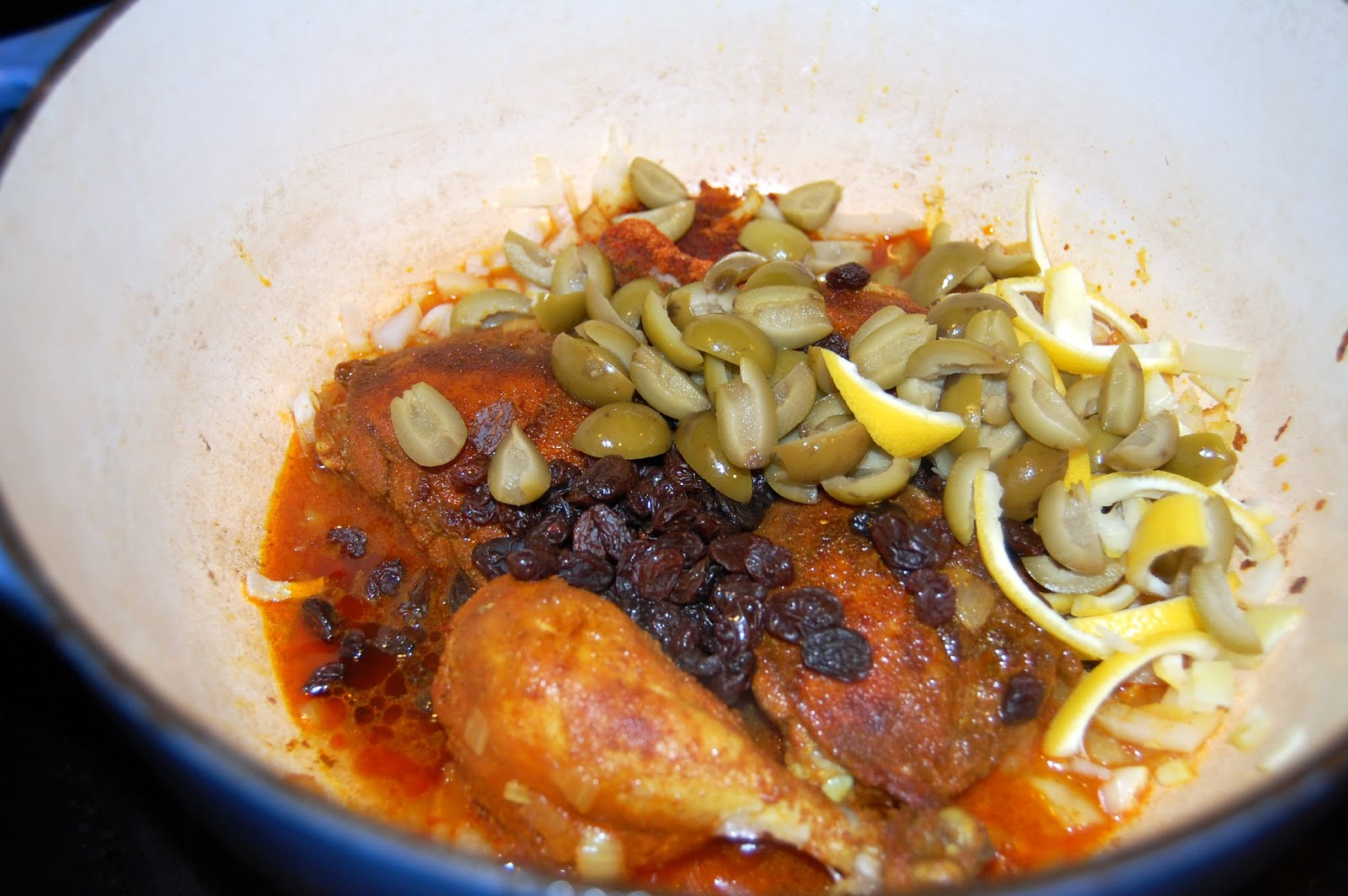 Eat What's On Your Plate: Moroccan Chicken with Lemon and ...