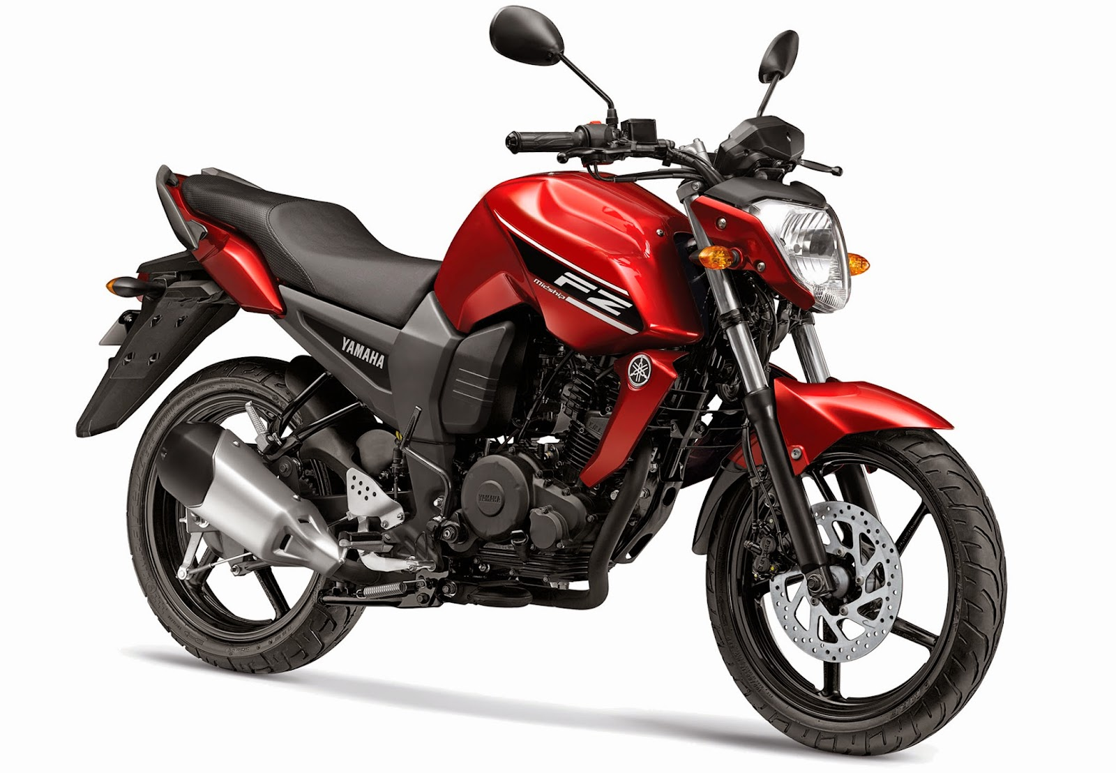 Yamaha FZ16 color storming red