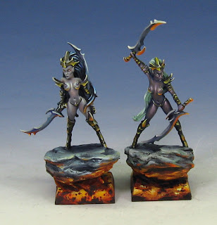 Raging Heroes Blood Vestals painted by James Wappel (wappellious)