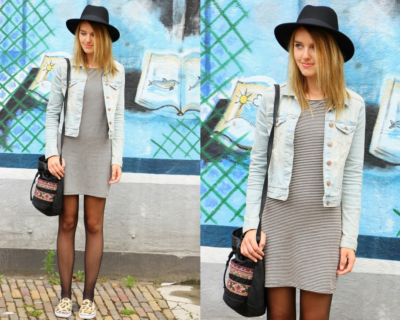 fashionmoodboard shalane outfit denim stripes