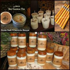 Natural Soy & Organic Beeswax Candles