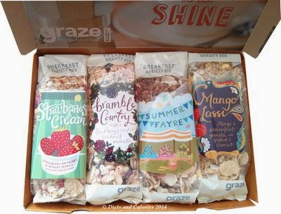Graze Breakfast Granola box