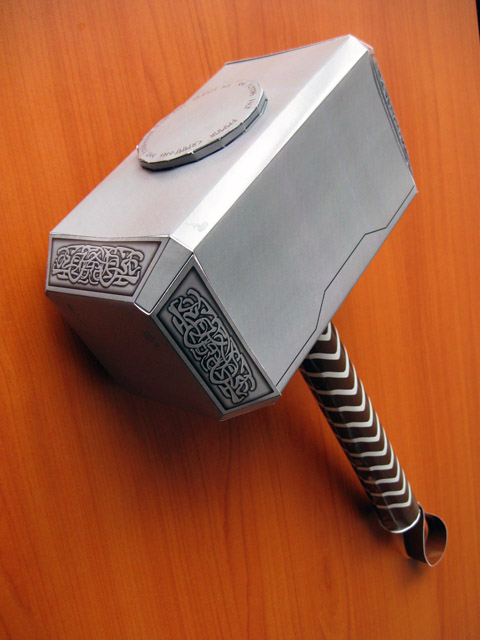 Thor Movie Hammer Papercraft