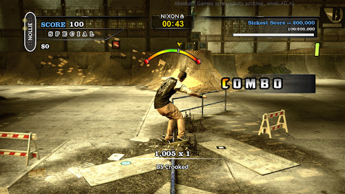 Screen Shot Of Tony Hawks Pro Skater HD (2012) Full PC Game Free Download At worldfree4u.com