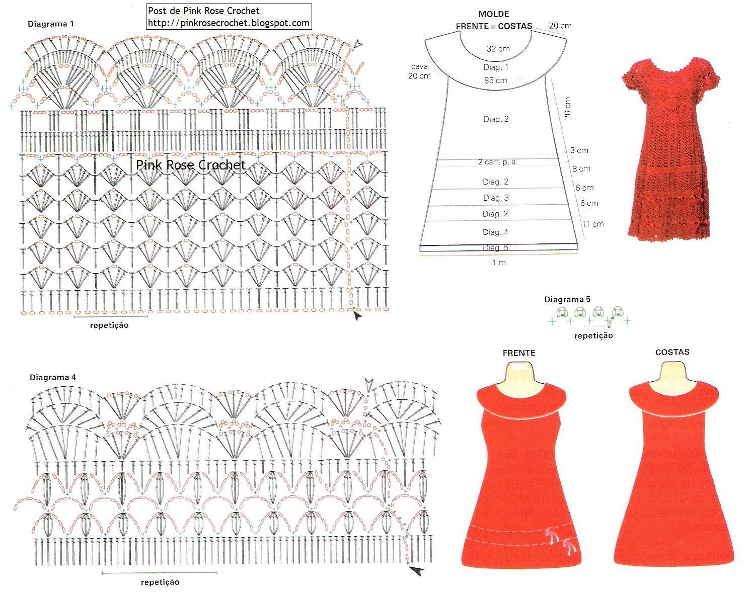 Alguns gráficos... | Croche na Net