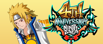 CHEAT NINJA SAGA ANNIVERSARY 4TH