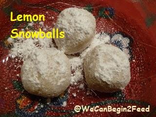 Lemon Snowballs