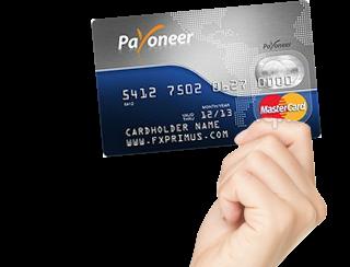 احصل الان على بطاقة Payoneer مع 25 $ هدية
