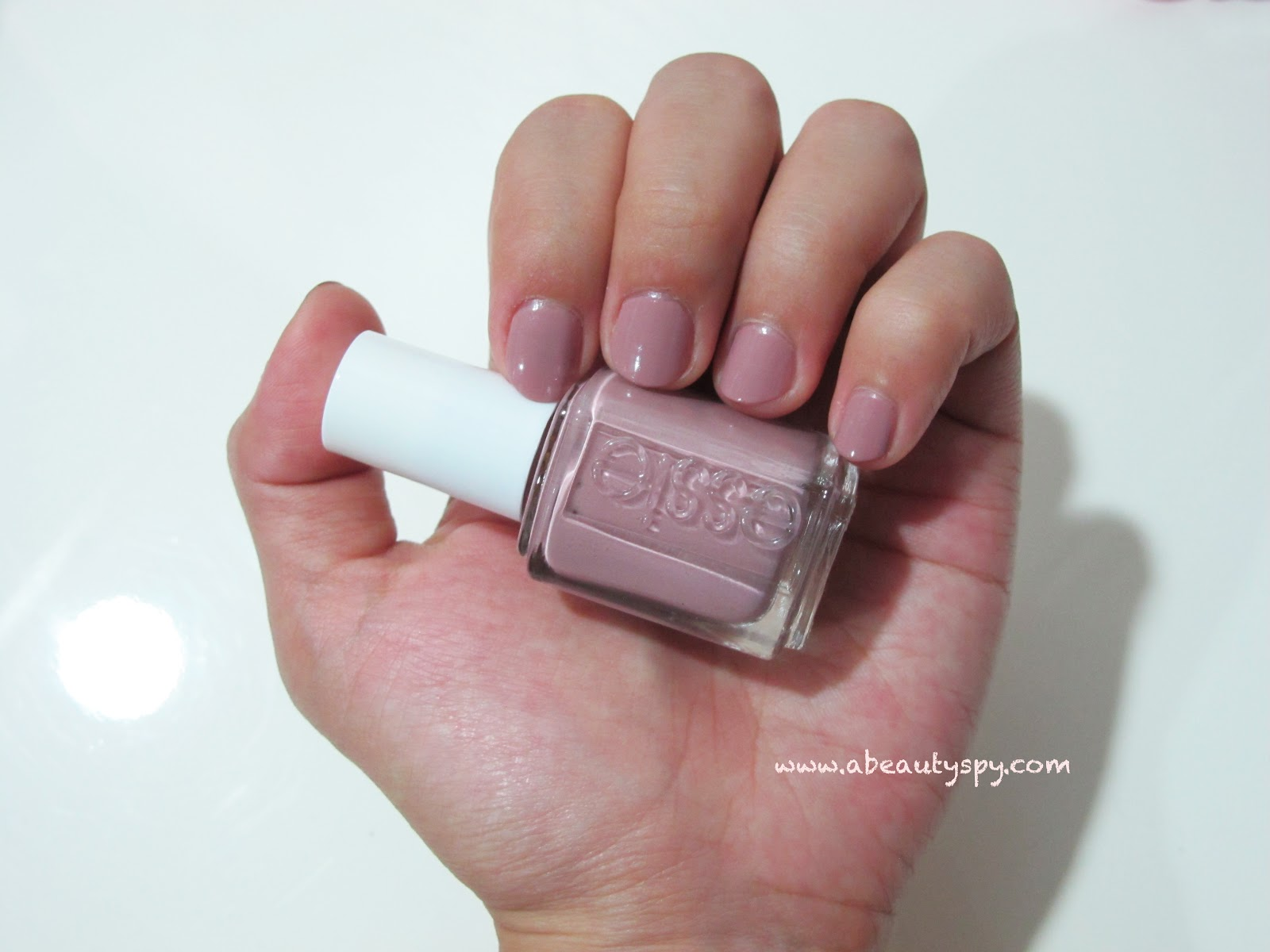 Beauty spy com neutral nail color for job interviews essie lady