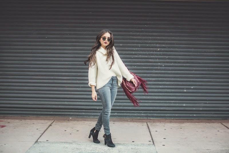 miami fashion blogger, fashion blogger, nany's klozet, daniela ramirez, midi skirt, crop top, how to wear, fashion trends, fashion blogger, fringe, tous, winter fashion,