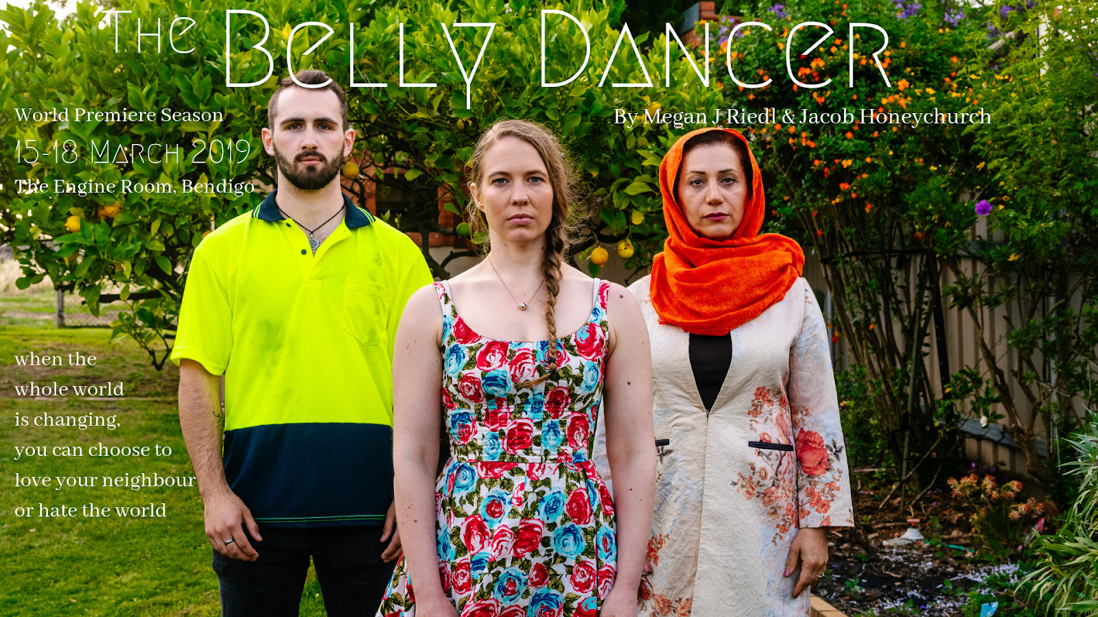 BELLY DANCER - Real life family violence