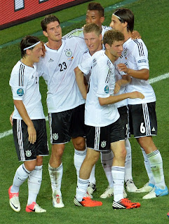 Germany players vs Holland