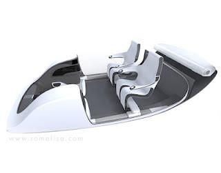 mobil masa depan1 Mobil Masa Depan Dengan Desain Futuristik