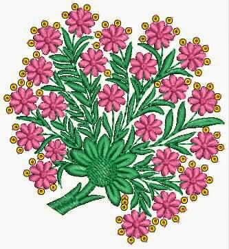 afgelaai masjien borduurwerk quilt