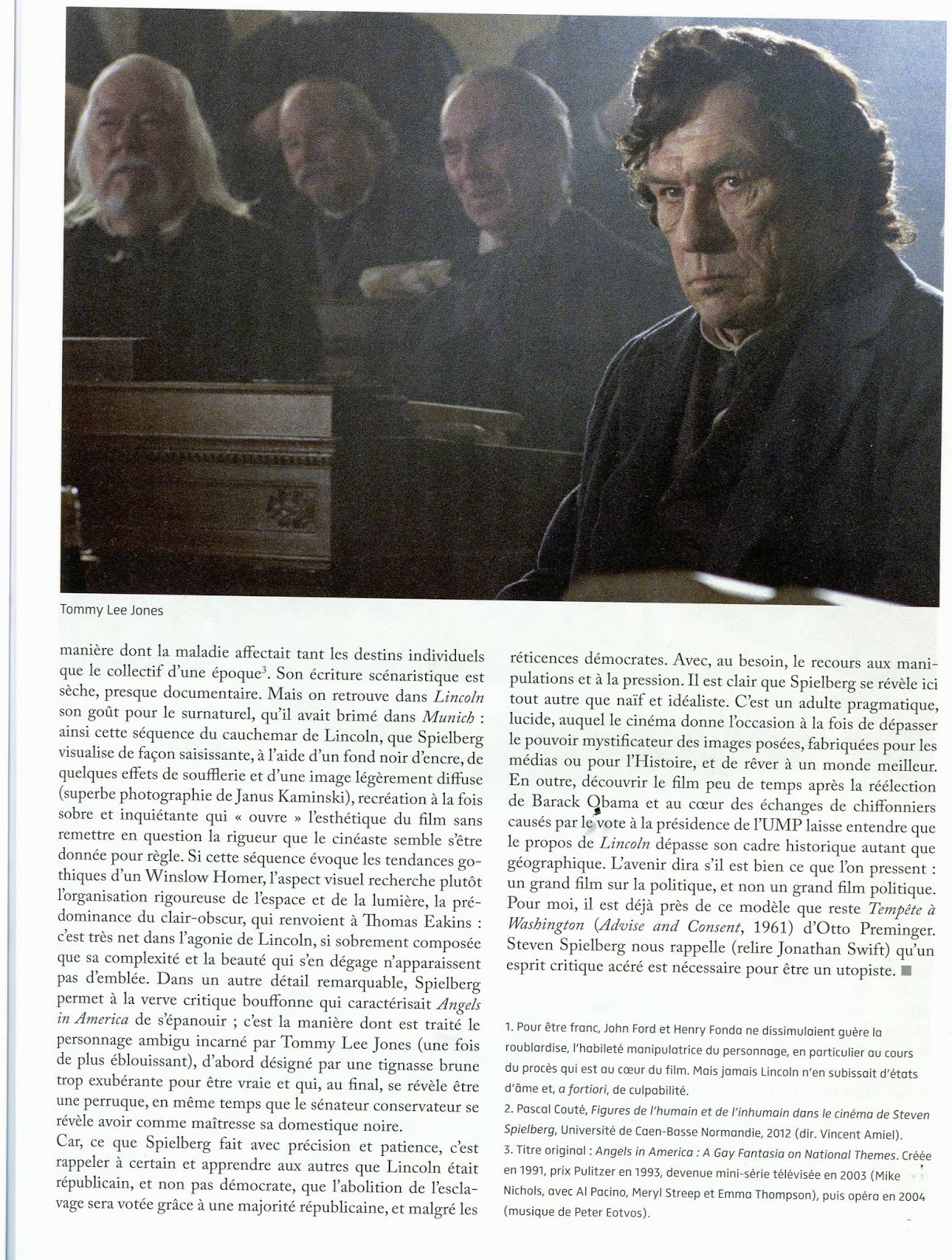 """lincoln movie essay example Few hollywood films have ever been as well suited for discussion within american history classrooms as steven spielberg's """"lincoln"""" (2012."""