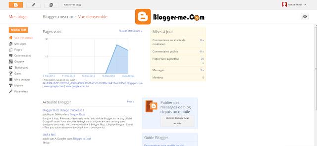 widgets blogger , c'est quoi les widgets